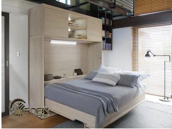 Giường tầng thông minh giúp tiết kiệm diện tích