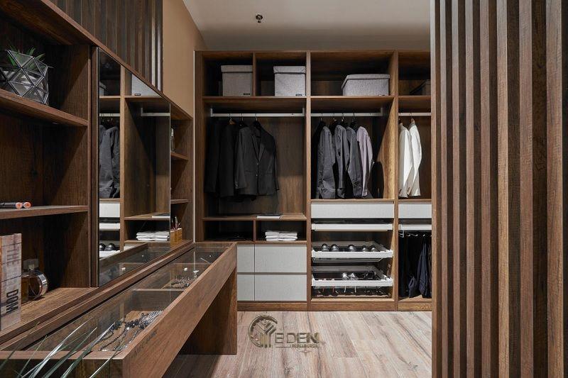 Tủ gỗ HDF cho phòng ngủ