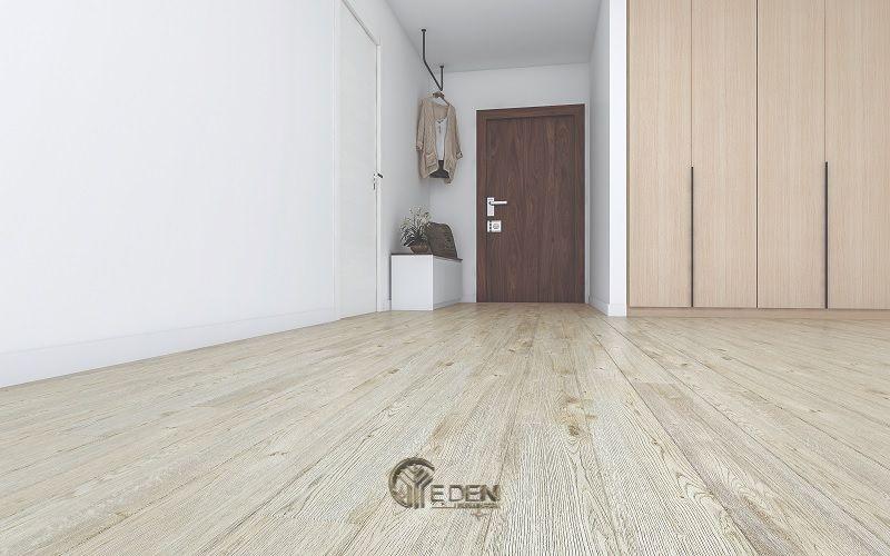Sàn gỗ HDF cho phòng ngủ hiện đại
