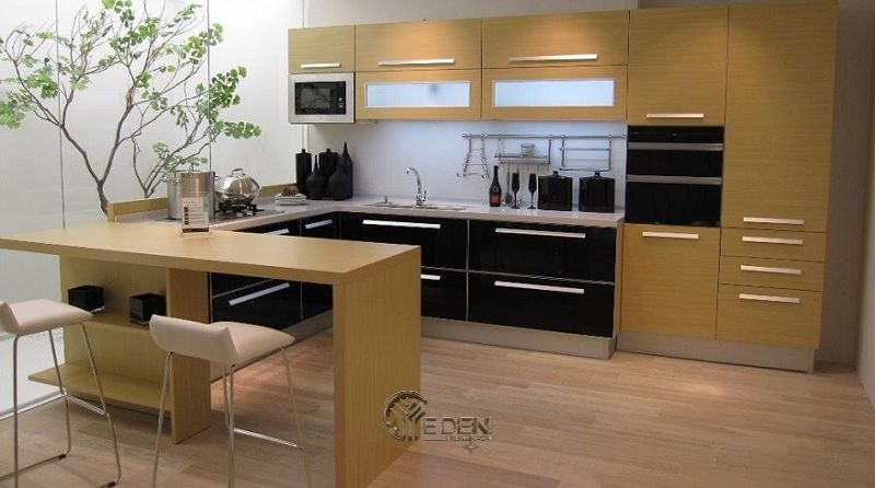 Tủ gỗ HDF cho phòng bếp