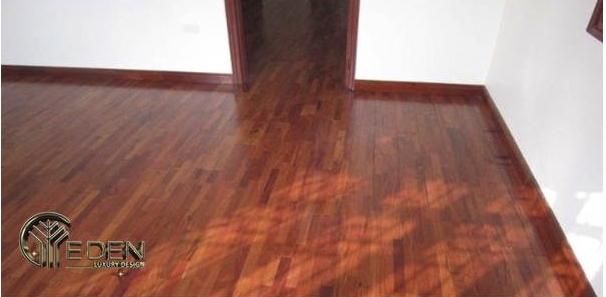 Sàn gỗ sử dụng gỗ hương Lào