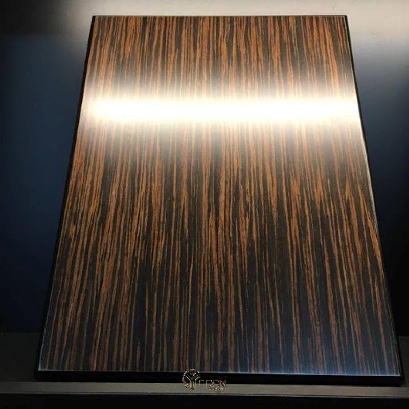 Tuy Mun sọc rẻ hơn Mun sừng nhưng nó có vân khá đẹp và chất gỗ dẻo hơn, chất lượng rất tốt với độ bền cao