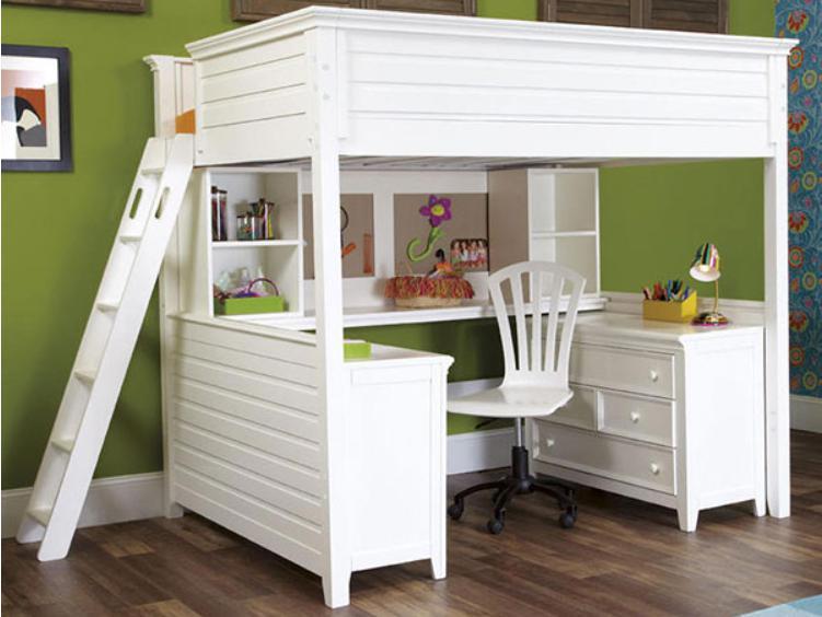 Home setup giường tầng cho người lớn kết hợp bàn làm việc thông minh