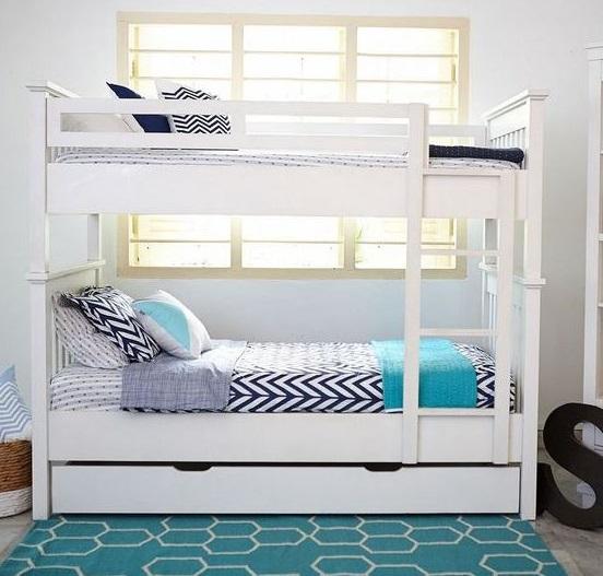 Mẫu giường 2,5 tầng cho người lớn kết hợp