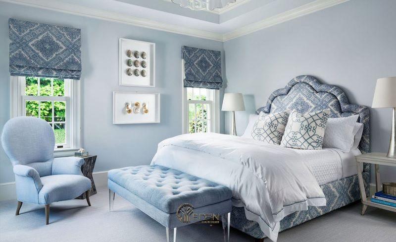Màu xanh pastel nhẹ nhàng cho phong cách cổ điển