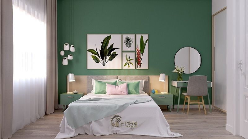 Sợ khám phá các tùy chọn màu sơn nội thất