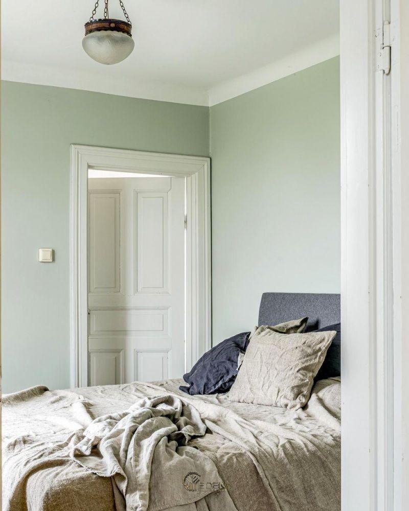 Màu Xanh Pastel cho phòng ngủ mang đến sự bình yên, nhẹ nhàng