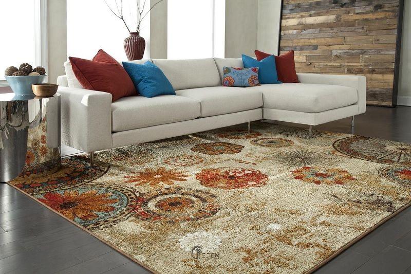 Lựa chọn chất liệu thảm phù hợp với không gian gia đình