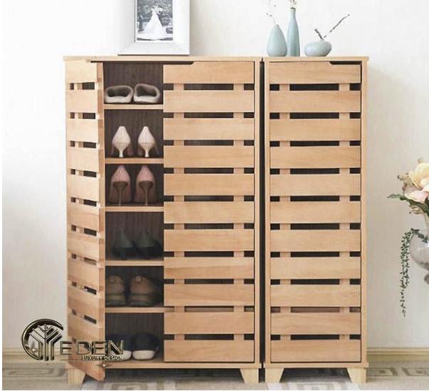 Tủ gỗ nhỏ đựng giày tiện dụng, đa năng