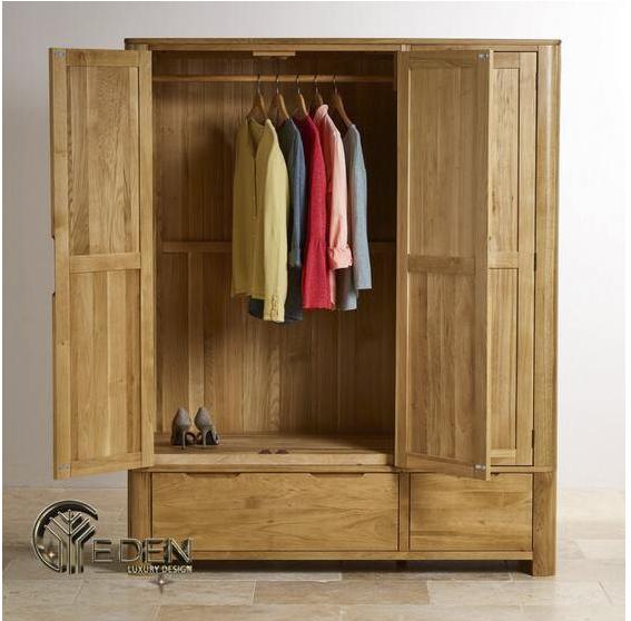 Tủ quần áo nhỏ gọn 3 cánh tiện dụng