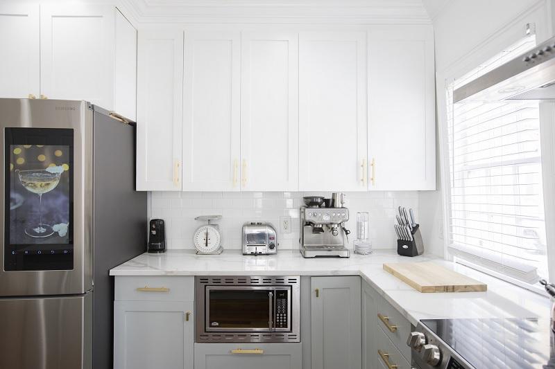 Mẫu thiết kế phòng bếp chung cư đẹp 7