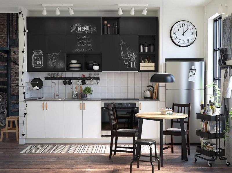 Mẫu thiết kế phòng bếp chung cư đẹp 10