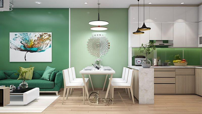 Hãy sử dụng một tấm thảm khu vực để xác định các không gian riêng biệt trong phòng của bạn