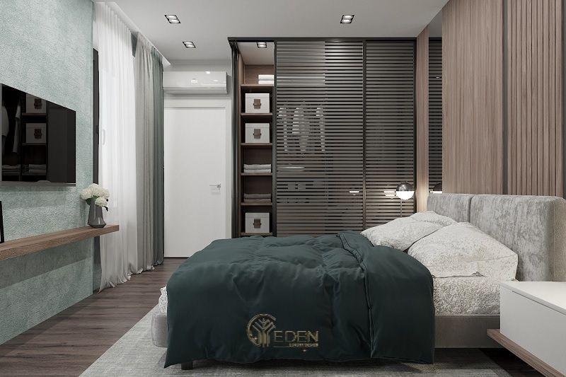 Mẫu phòng ngủ chung cư phong cách hiện đại 2