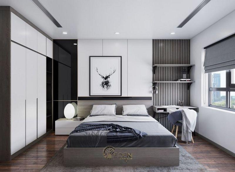 Mẫu phòng ngủ chung cư phong cách hiện đại 3