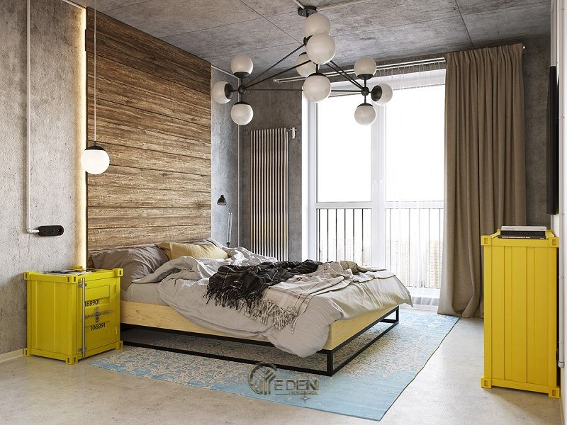 Mẫu phòng ngủ chung cư phong cách hiện đại 4