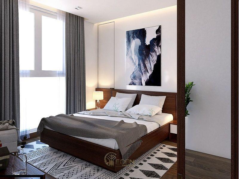 Treo một tấm ảnh nghệ thuật lên một bức tường trống có thể tạo ra sự thú vị và chiều sâu cho căn phòng