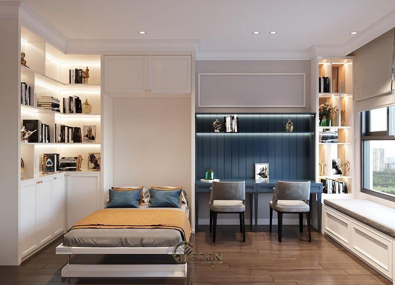 Mẫu phòng ngủ chung cư phong cách hiện đại 5