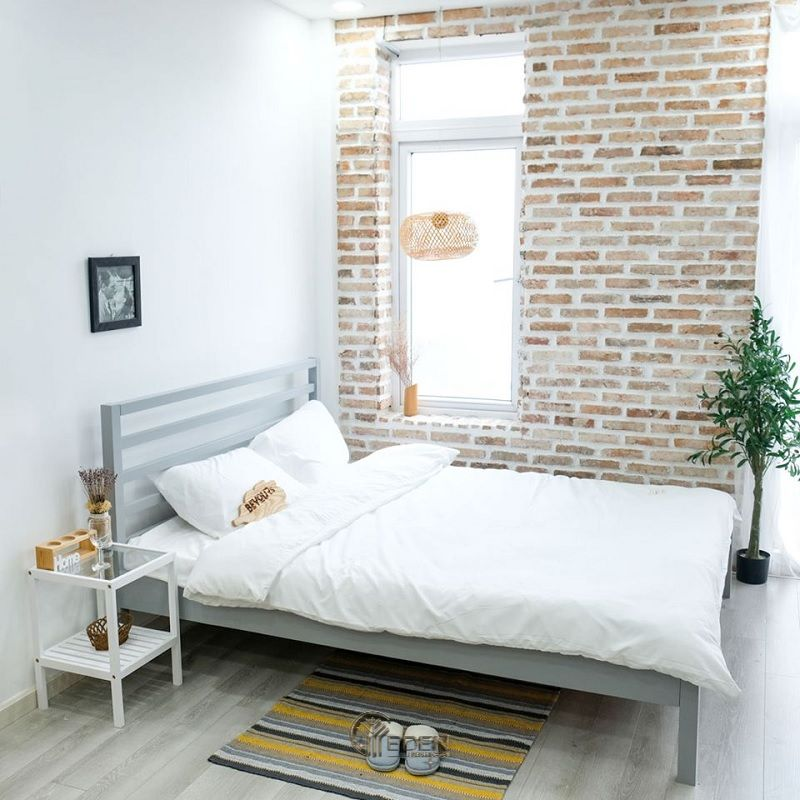Mẫu phòng ngủ chung cư đẹp phong cách Tối giản 1