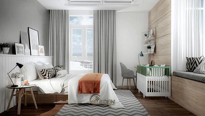 Mẫu phòng ngủ chung cư phong cách Scandinavian 3