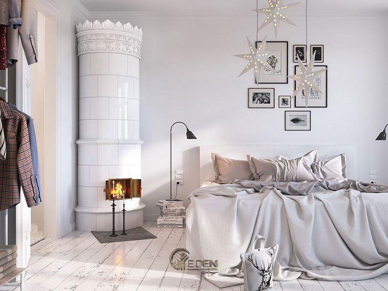 Mẫu phòng ngủ chung cư phong cách Scandinavian 2