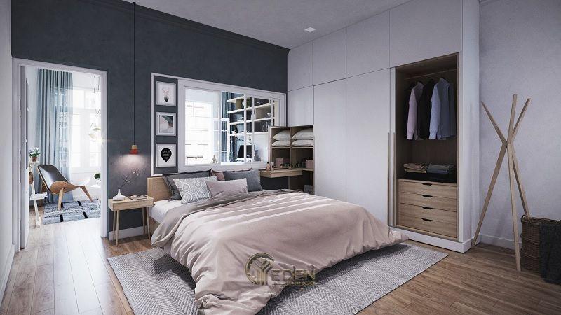 Mẫu phòng ngủ chung cư phong cách Scandinavian 1