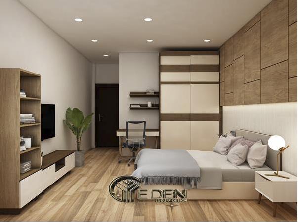 Phòng ngủ hiện đại đem lại cảm giác thoải mái