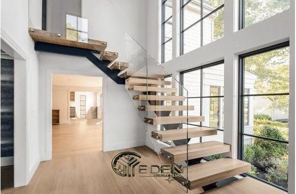 Cầu thang có nhiều thiết kế đẹp cho bạn lựa chọn