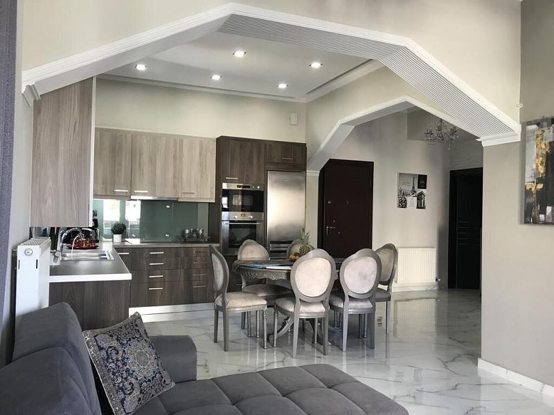 Ứng dụng cách thiết kế nhà bếp đẹp và phòng ăn cho biệt thự sang trọng 2
