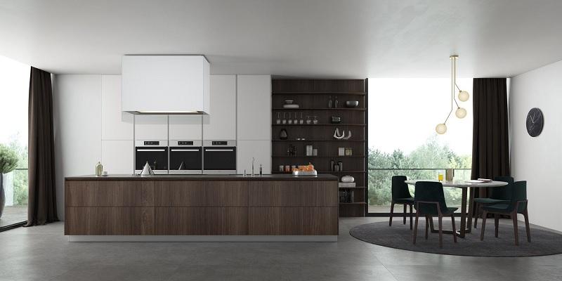 Ứng dụng cách thiết kế nhà bếp đẹp và phòng ăn cho biệt thự sang trọng 3