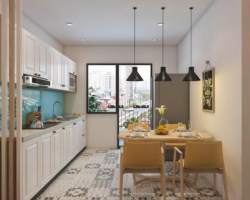 Lựa chọn gạch, sàn nhà mở rộng không gian
