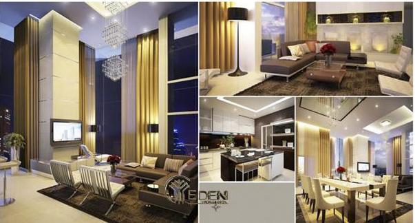 Mẫu thiết kế nội thất trong các phòng