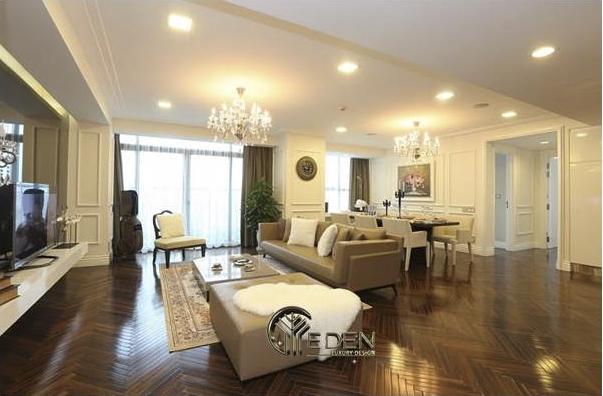 Một góc nhìn khác trong căn hộ chung cư cao cấp