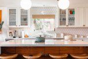Tuyển chọn mẫu đá ốp bếp đẹp, mới nhất cho phòng bếp hiện đại