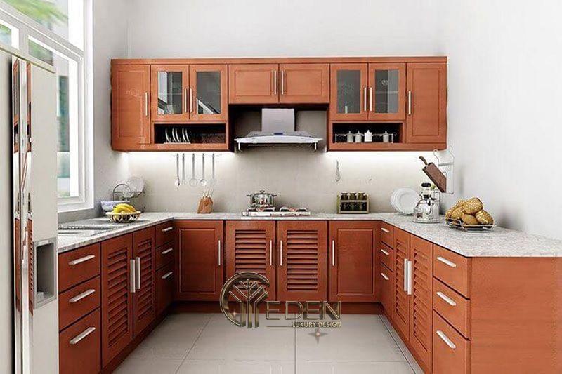 Mẫu phòng bếp với đá ốp phong cách hiện đại (3)