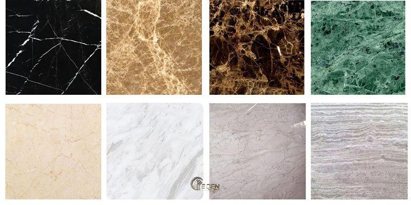 Các màu sắc của Đá marble tự nhiên (đá cẩm thạch)