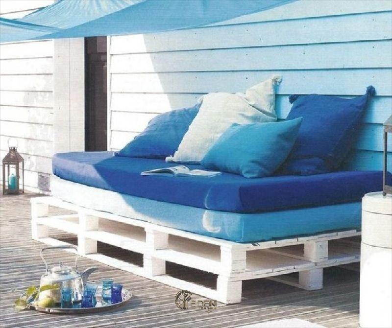 Thiết kế ngay ghế đọc sách thư giãn với gỗ Pallet sáng tạo