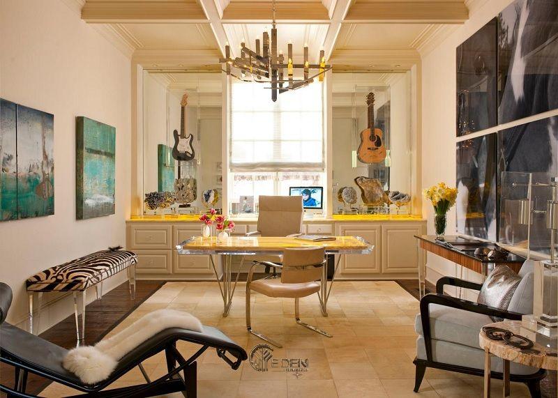Mẫu thiết kế văn phòng phong cách Cổ điển (1)