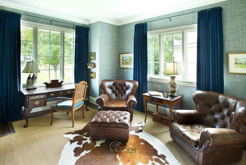Mẫu thiết kế văn phòng phong cách Cổ điển (2)
