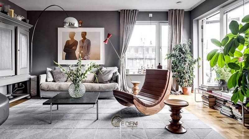 Mẫu thiết kế phòng khách phong cách Hiện đại sang trọng (3)