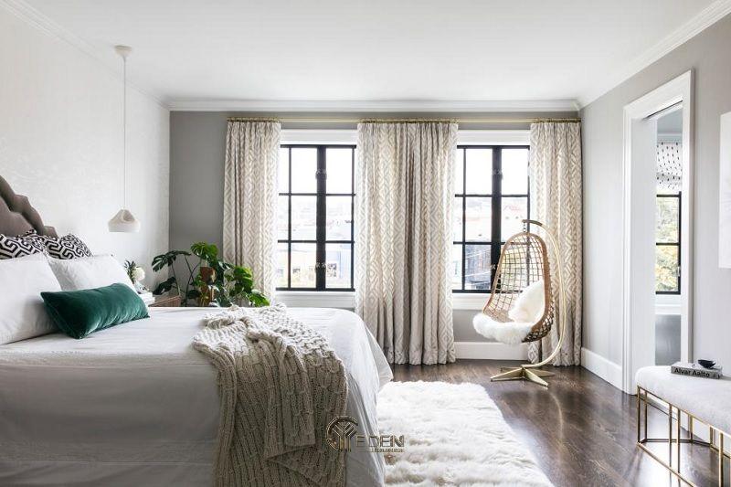 Thiết kế phòng ngủ phong cách Tối giản, tinh tế và khác biệt (4)