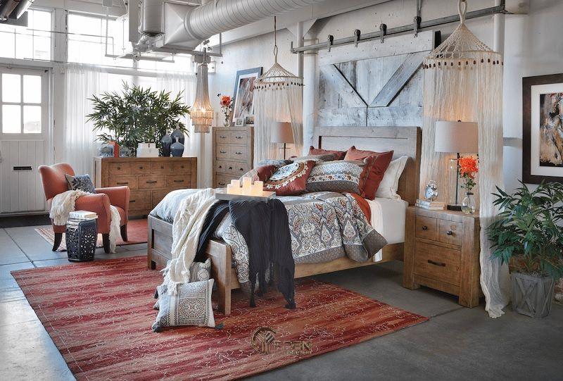 Thiết kế phòng ngủ phong cách Bohemian tự do, phóng khoáng (5)
