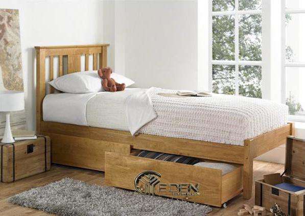 Không gian lưu trữ đồ thoải mái của giường ngủ cho các gia chủ