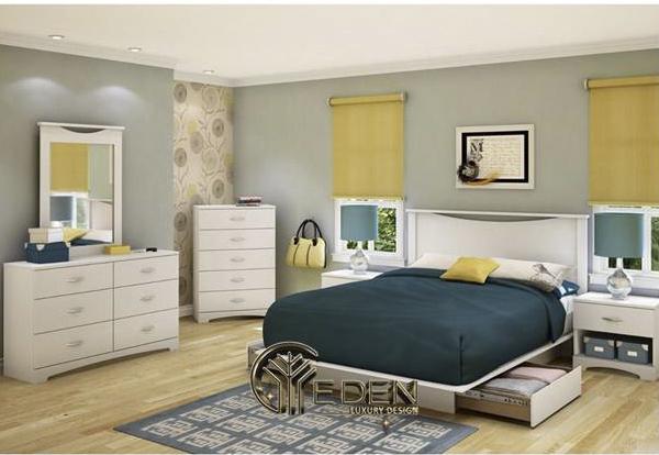 Khách hàng ưa chuộng giường ngủ thông minh gỗ MDF lõi xanh