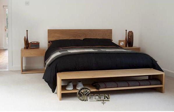 Mẫu giường gỗ công nghiệp trang bị những tính năng hấp dẫn