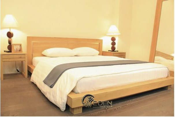 Mẫu giường ngủ bằng xoan đào giá rẻ