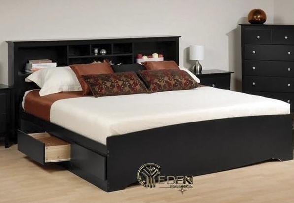 Mẫu giường ngủ giá rẻ đẹp, ấn tượng