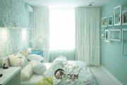 5 lưu ý quan trọng khi thiết kế phòng ngủ màu xanh ngọc
