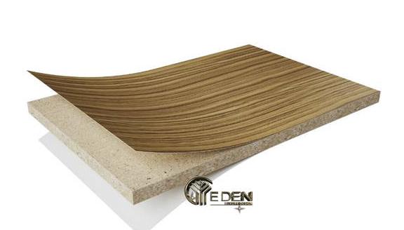 Gỗ MFC được cấu tạo bao gồm 2 phần chính là lõi gỗ ép và phần lớp phủ ngoài melamine