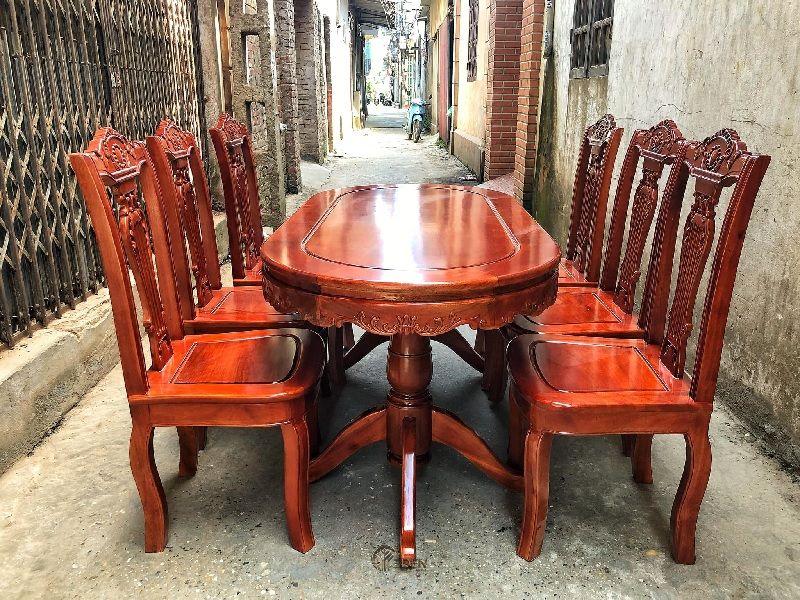 Mẫu bàn ghế xoan đào ấn tượng